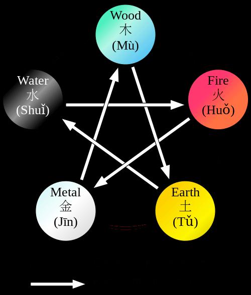diagnóstico tradicional chinês 5 elementos